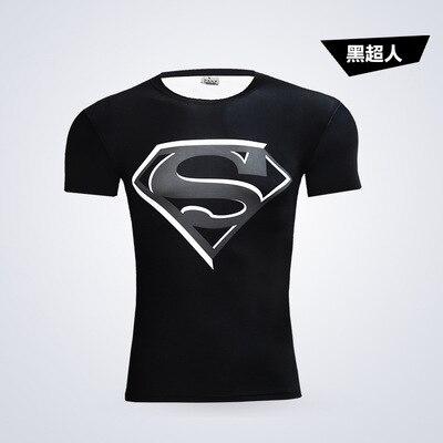 de09cee3ef Moda verão camisa superman t homens de estilo casual t-shirt de manga curta