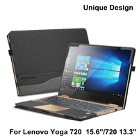 Creative Design Laptop Cover For Lenovo Yoga 720 15 15 6 Inch Sleeve Case PU Leather