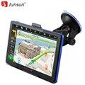 """Junsun Rússia 7 """"Carro Navegador GPS 8 GB mapa Navitel navegadores Permanente atualização gratuita"""