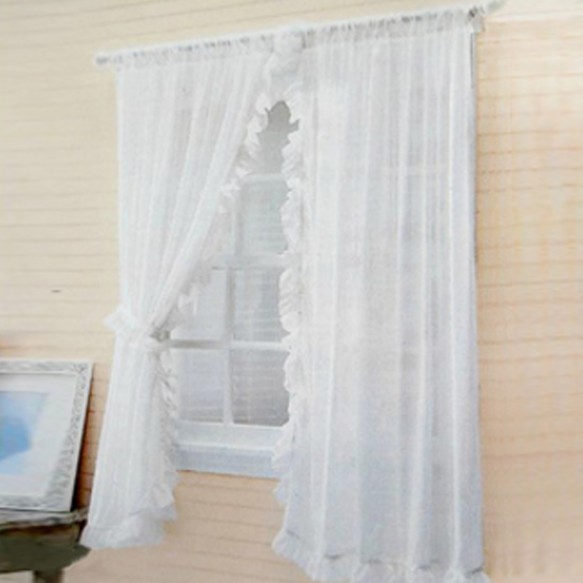Kitchen Curtains At Big Lots: Window Curtain Purfle Decoration Sheer Curtain Valance For