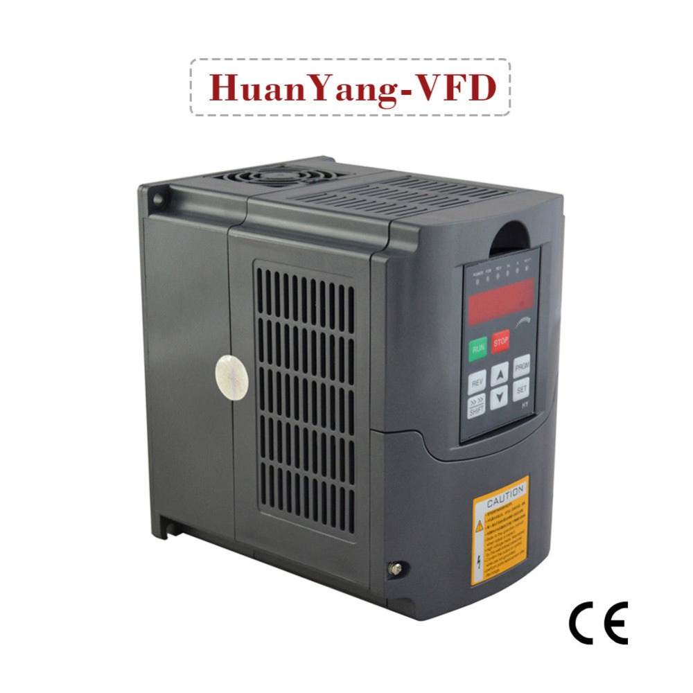 AC inverter 2.2KW 3HP 10A 1 phase input 3 phase output variable frequency drive inverter spindle motor speed controller vfd ac inverter 2 2kw 3hp 10a 1 phase input 3 phase output variable frequency drive inverter spindle motor speed controller vfd