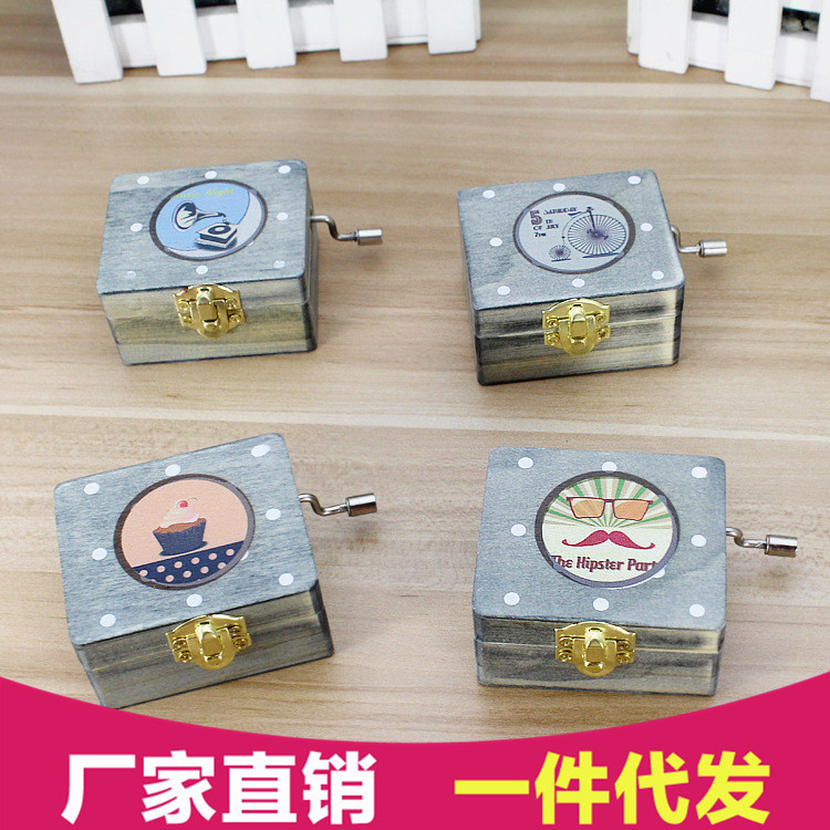 Manufacturers selling retro Series Music Box Music Box