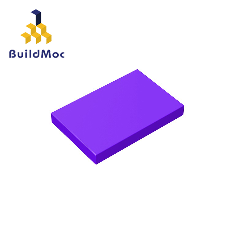 BuildMOC Compatible With Assembles Particles 26603 2x3 For Building Blocks Parts DIY LOGO Educational Creative Gift Toys