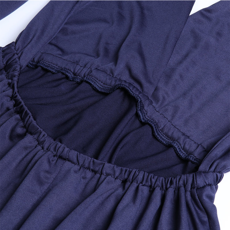 Sexy Long Dress Bridesmaid Formal Multi Way Wrap Convertible Infinity Maxi Dress Navy Blue Hollow Out Party Bandage Vestidos 23