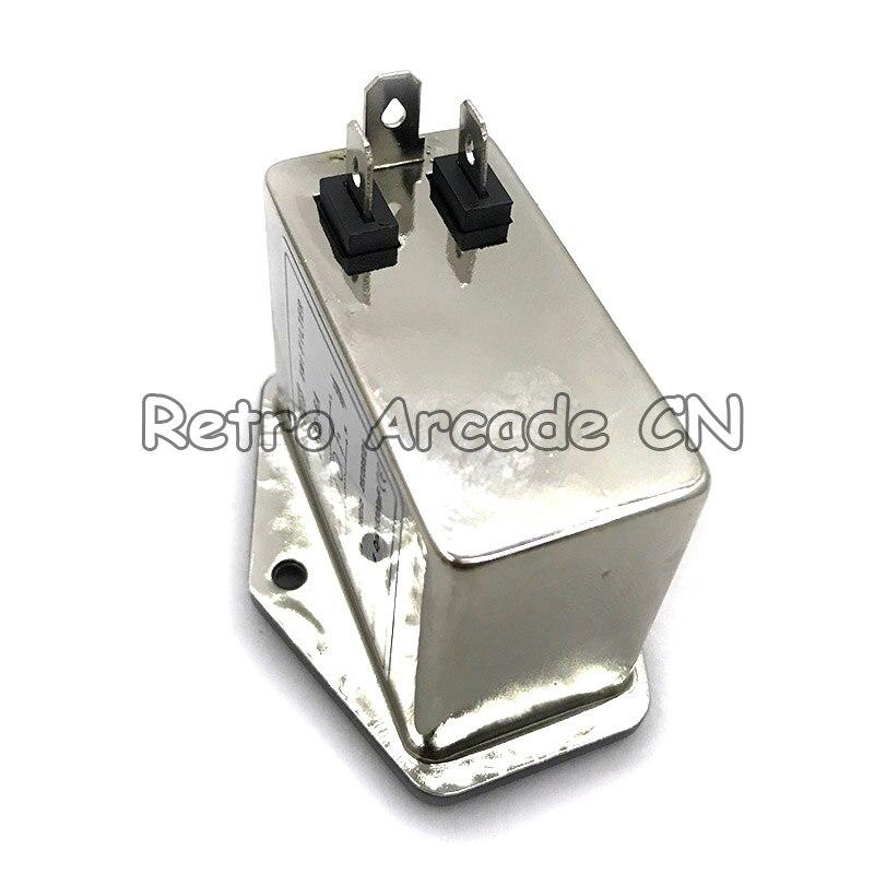 10pcs 6A 115 250V AC EMI Filter Arcade Game machine Accessories Coin operated game machine