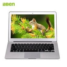 Bben 13.3 дюймов labtop ноутбук для Intel i5 5200U DDR3L 4 ГБ 64 ГБ с Windows 10 Активизированный Ultrabook 2.2 ГГц Ultrabook Записные книжки PC