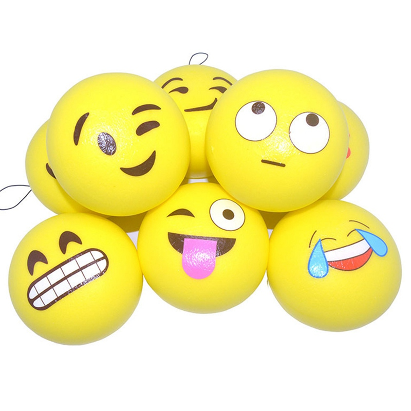 Decompression Bun Cute Gift Random Expression Cute Mini Kawaii Pack Slow Rebound Yellow Cute Face