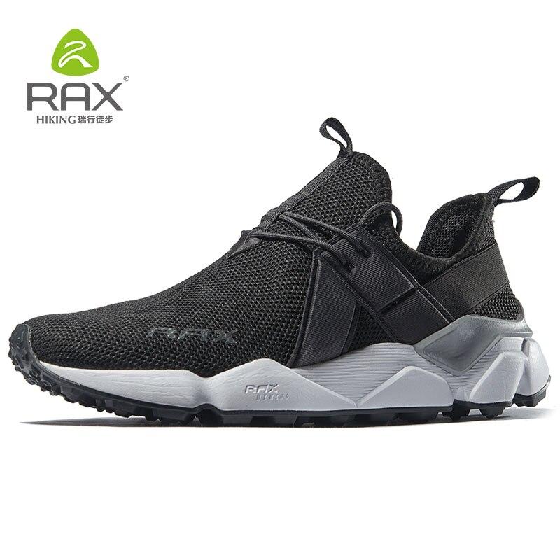 RAX Для мужчин уличные кроссовки дышащая Спортивная обувь для Для мужчин ходьба Бег Трекинговые кроссовки легкие треккинговые ботинки 456