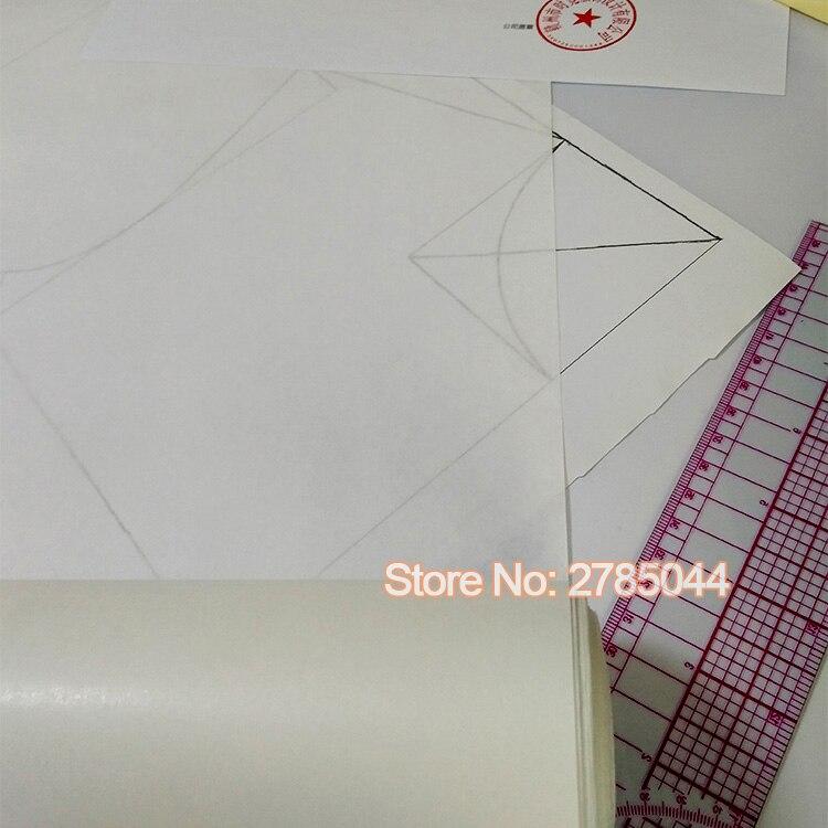 High Quality Professional Clothing Garment Pattern Making Paper Design Draft Tracing Pattern Making Draping Cutting 45G FL00027