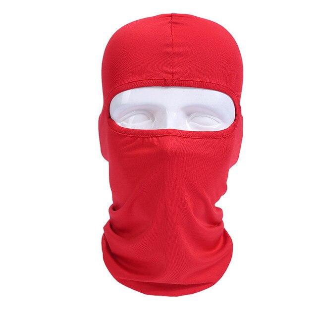 Pro-biker Balaclava Motorcycle Face Mask Headgear Full Face Masks For Motorcycle Helmet Summer Breathable Masque Maske Moto 1