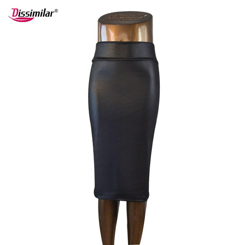 Envío gratis oficina de las mujeres falda de cintura alta falda de - Ropa de mujer - foto 2