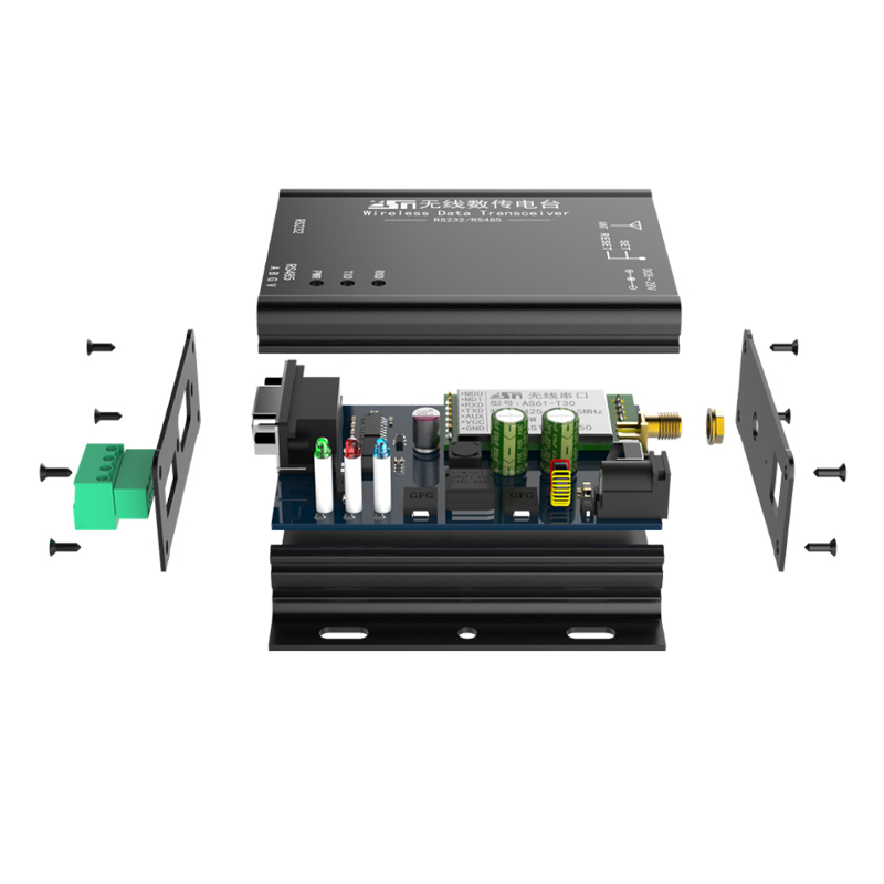 2019 tous les nouveaux As62-dtu30 de cintrage 1 w 433 mhz Module émetteur-récepteur Dtu porte magnétique Lora capteur de stationnement 1 paire
