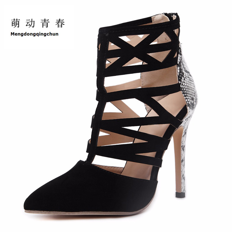 2017 New Brand Shoes Woman High Heels Women Pumps Stiletto Thin Heel Women's Shoes Pointed Toe High Heels Wedding Shoes Sapatos brand shoes woman high heels women pumps pointed toe wedding shoes 10cm metal heel women shoes high heels pumps shoes b 0113 page 9