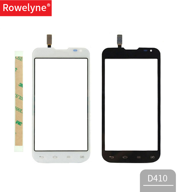 4.7'' Screen For LG L90 Dual Sim D410 Touch Screen Digitizer Front Glass Sensor Lens Panel Black White Touchscreen + 3M Tape