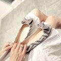 Новая коллекция весна и осень 2017 хан издание женской обуви прилив плоским лук круглая голова плоские туфли