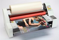 New 110V 220V 480MM 19 Laminator Four Rollers Hot Roll Laminating Machine Electronic Temperature Control 2