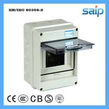 One Piece Selling 5 Ways Waterproof ABS Plastic Distribution Box Mini Circuit Breaker Box 150*110*90 mm