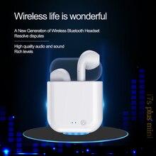 Bluetooth наушники i7s Plus Mini tws система активного шумоподавления наушники True Беспроводная гарнитура наушники fone de ouvid