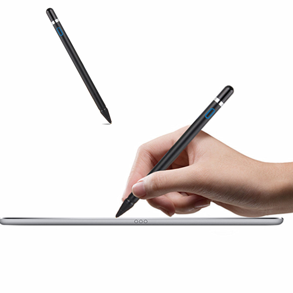 NIB 1.3mm Active Stylus Capacitive Touch Screen Pen Pencil For Huawei MediaPad M3 Lite 10 8.0 CPN-AL00 BAH-W09 BAH-AL00 Tablet цены онлайн