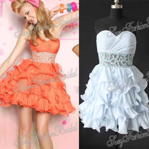 short ruffle prom dresses_Prom Dresses_dressesss