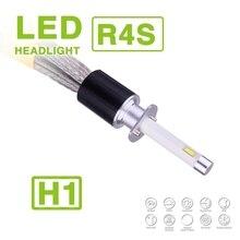 1 компл. H1 90 Вт 10400lm r4s светодиодный фар Super Slim Conversion Kit faneless чистый белый 6000 К 45 Вт 5200lm вождение автомобиля Противотуманные огни лампы