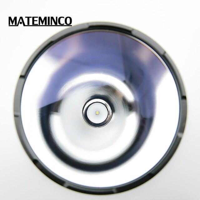 Mateminco MT35 Plus 2416 метров супер мощный длинный диапазон 2700 люмен Охотничий Тактический высокомощный светодиодный фонарик Фонарь