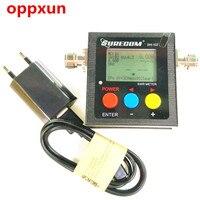 OPPXUN Radioddity Surecom SW-102 125-525 백만헤르쯔 디지털 VHF/UHF 안테나 전원 SWR 미터