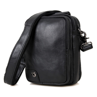 High Quality Men Genuine Leather Cowhide Vintage Sling Bag Day Pack Travel Fashion Cross Body Messenger Shoulder Bag