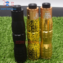 Rockvape mod titan x  Mech Vape Mod 25mm Powered by 18650/20700/21700 Vaporizer VS VGodS Mech Mod iStick Pico Kit Mage Mech Mod newest original vgod pro mech 2 kit with 2ml vgod elite rda pro mech 2 mod upgraded vgod pro mech mod vs vgod elite mod