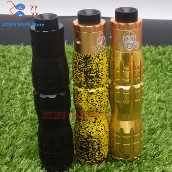 Rockvape mod titan x  Mech Vape Mod 25mm Powered by 18650/20700/21700 Vaporizer VS VGodS Mech Mod iStick Pico Kit Mage Mech Mod цена 2017