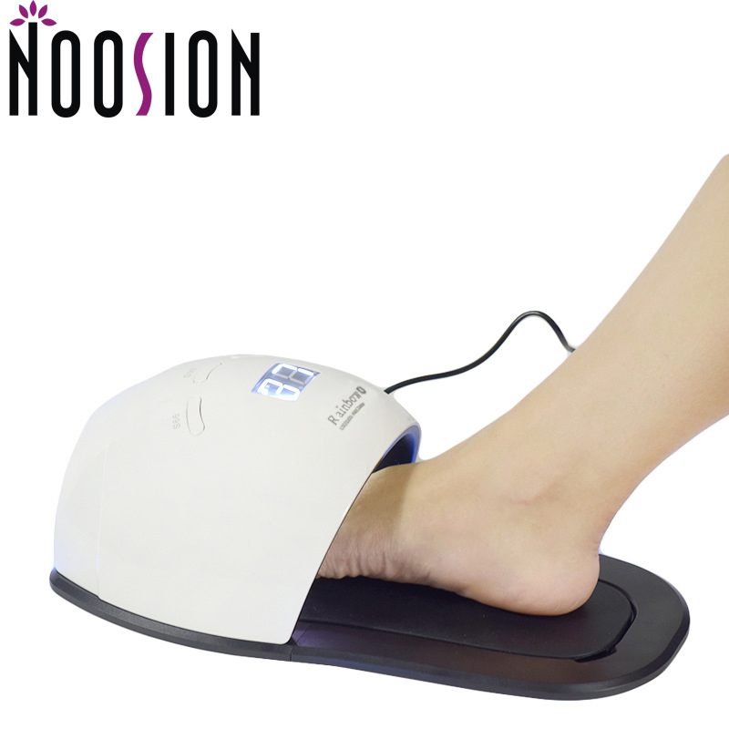 NOOSION UV LED Lamp For Nail Dryer Manicure 48W 30PCS LEDS Cure aLL Gels Foot LED Nail Lamp Sensor Polish Professional Art Tool nail clipper cuticle nipper cutter stainless steel pedicure manicure scissor nail tool for trim dead skin cuticle