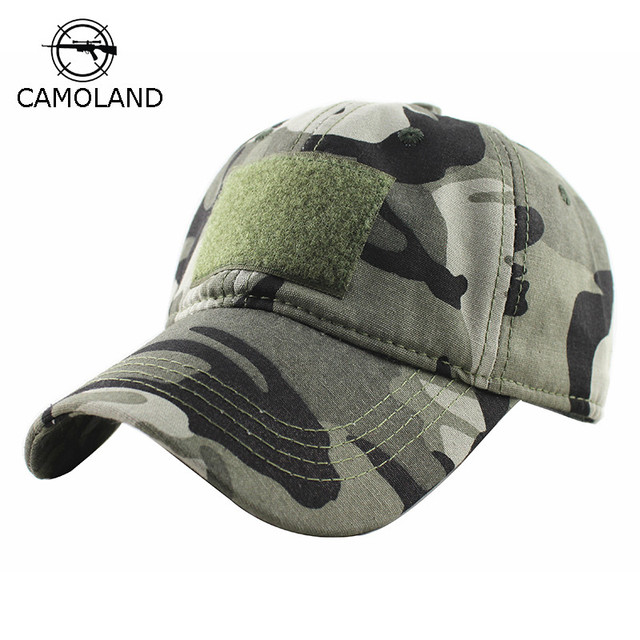 75b33b4c9e4 CAMOLAND Men Baseball Cap Camo Tactical Cap Camouflage Snapback Hat For Men  High Quality Bone Masculino