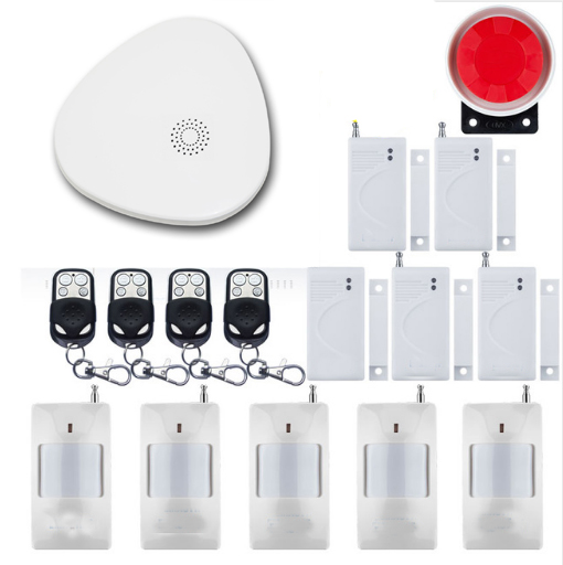 Yobang Securitty IOS Android APP Control WIFI Wireless House Security Alarm System Remote Controller With Smoke Fire DetectorYobang Securitty IOS Android APP Control WIFI Wireless House Security Alarm System Remote Controller With Smoke Fire Detector