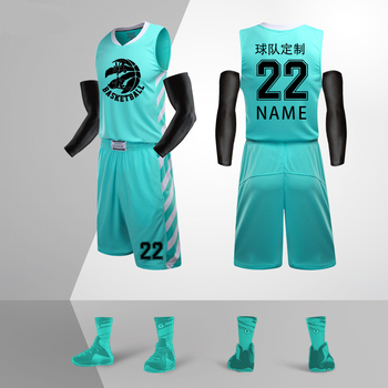 9189307d Взрослые баскетбольные майки набор пустой команды спортивный набор женский  баскетбол тренировочные костюмы Мужская баскетбольная одежда .