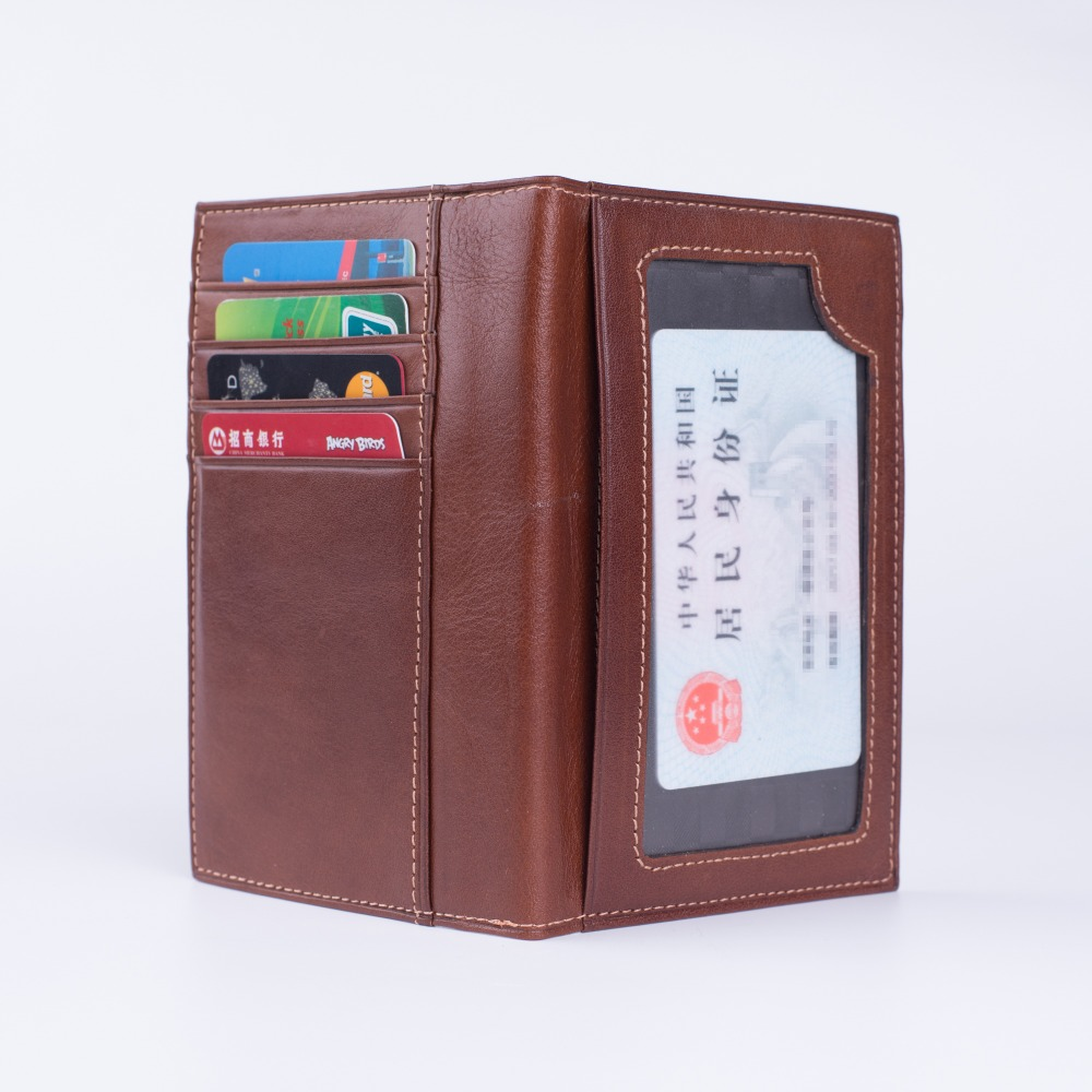 Russian Drivers License Wallet For Men Credit Id Card Holder Big Size Genuine Leather Driver License Holder 9.6*13.7cm