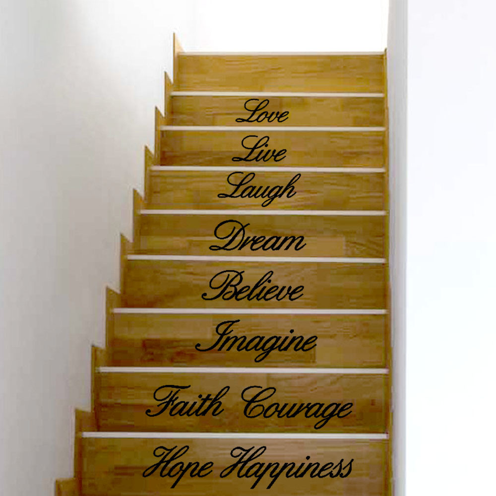 Wall Stickers Live Laugh Love Dream Believe Imagine Faith courage ...