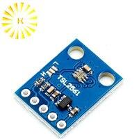 1pcs/lot GY-2561 TSL2561 Luminosity Sensor Breakout infrared Light Sensor module integrating sensor AL Connector