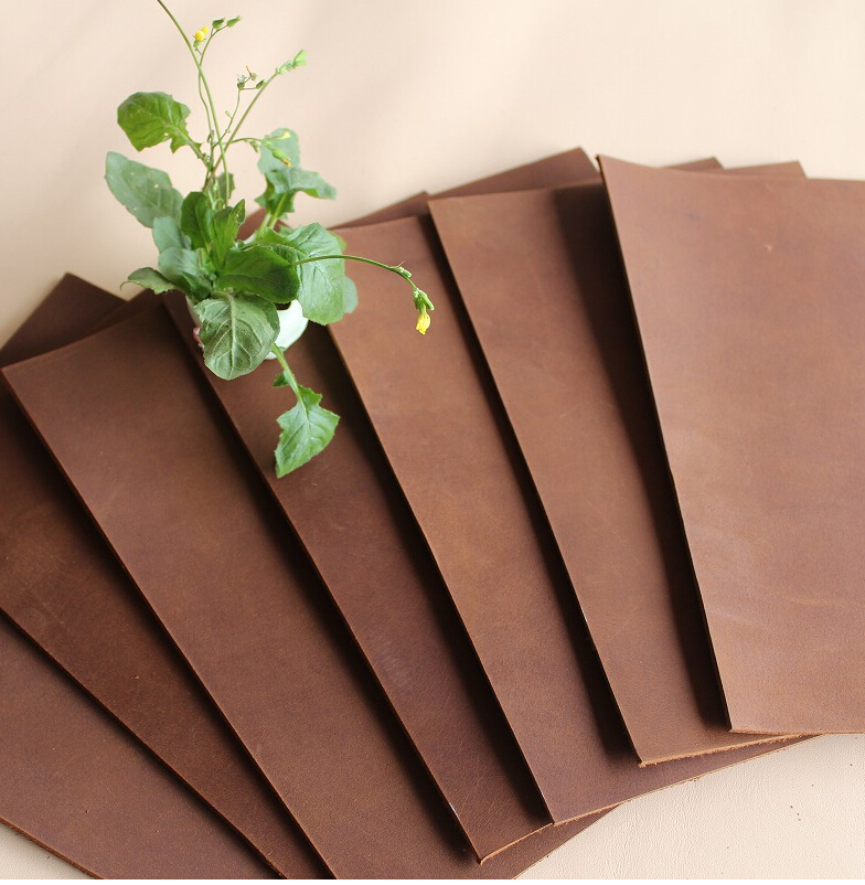DIY Sofa leather table bag good quality 1.5mm first layer leather 21*14cm