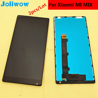 Joliwow 2pcs Lot FOR Xiaomi Mi MIX LCD Display Touch Screen Frame Integrated Component Replacement Parts