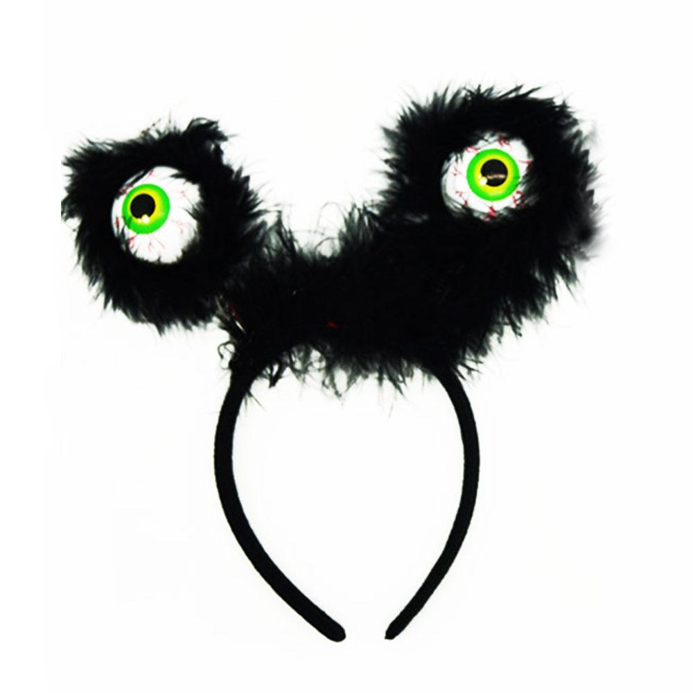Flashing Eyeball Headband Spooky Costume Accessories Halloween Kids Funny