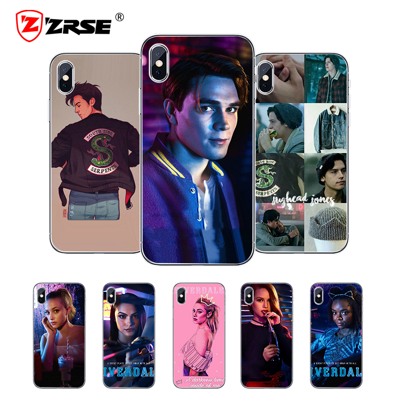 ZRSE for iPhone 6 Case Riverdale Phone Cover for iPhone 5