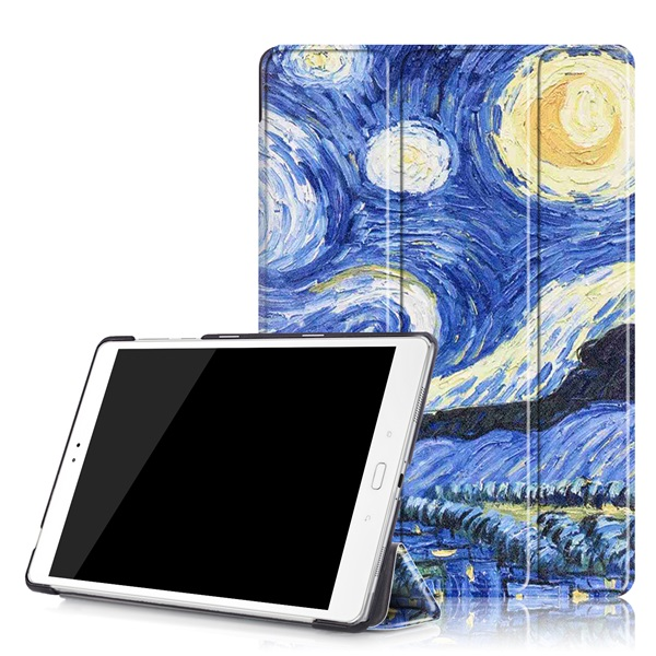 Art Painting cover case Magnet Folio Slim PU Leather Stand Case Cover for 2016 Asus