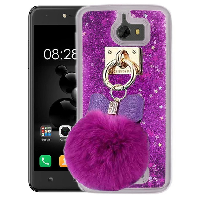 sale retailer f2b9e 9cd77 US $9.99 |1Pcs Coolpad Defiant 3632A Case Sandglass Sparkle Liquid Floating  Diamond Bracelet Fur Ball Phone Case For Coolpad Defiant 3632A-in Fitted ...