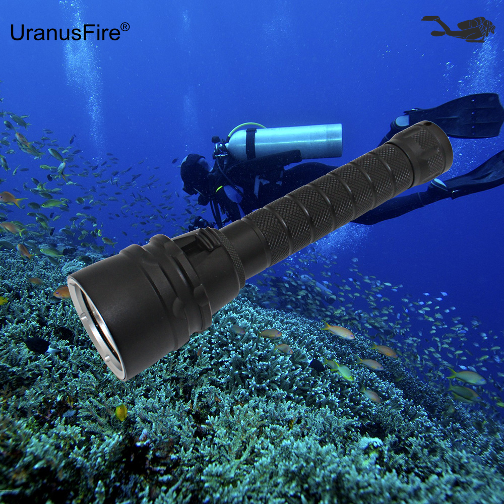 Diving Flashlight Underwater Dive Light 5x L2 Cree XM-L2 LED Scuba Torch Waterproof Flashlight + 18650 Battery + USB Charger футболка женская эластичная unit tee casall для фитнеса