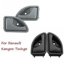Межкомнатная дверная ручка передняя левая или правая для Renault 1997-2007 Kangoo& 1997-2003 Twingo OEM 8200247802 82002478