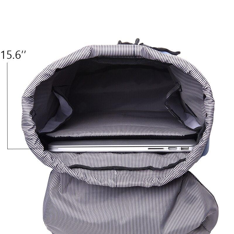 Bodachel Travel Backpack for Men 15.6'' Notebook Laptop Backpack Male Large Capacity Drawstring Knapsack Tourist sac a dos homme 4