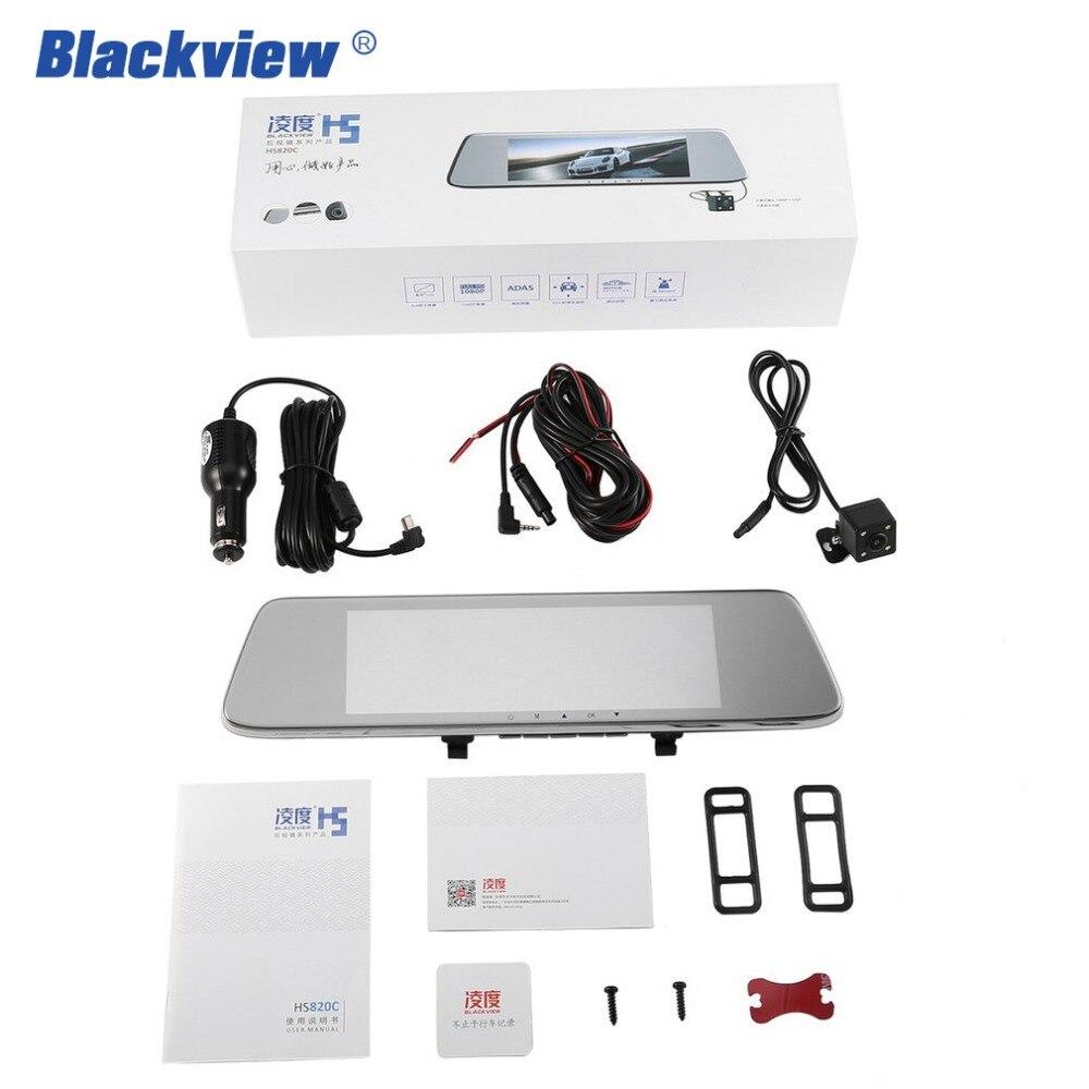 BLACKVIEW HS8C Car Dash cam 8 Inch Screen Rear view Camera Car Dvr Mirror Dual Lens Night Vision FHD 1080P Video Recorder Hot 10