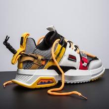 VSIOVRY 2019 printemps automne hommes chaussures décontractées mode Chunky chaussures respirant confortable marche baskets pour hommes doux krasovki