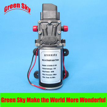 6L/Min 12V DC 80W  diaphragm pump 12v high pressure hot sale 1mpa 6l min 12v dc 80w pressure micro diaphragm water pump
