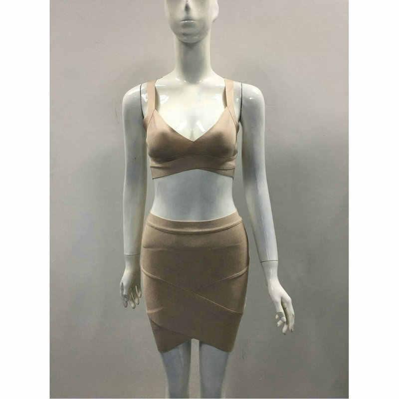 Высокое качество, новое летнее женское платье, опт, черное, красное, белое, пыльно-розовое, 2 предмета, Бандажное платье, Прямая поставка, платье + костюм